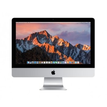 "All in One компютър Apple iMac (MMQA2ZE/A), 21.5"" (54.61) Full HD LED дисплей, двуядрен Intel Kaby Lake Core i5-7360U 2.3GHz/3.6GHz, Intel Iris Plus Graphics 640, 8GB DDR4, 1TB HDD, 4 x USB 3.0, безжична клавиатура(BG) и мишка, macOS Sierra image"
