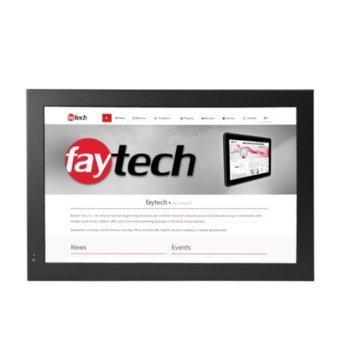 "Индустриален компютър Faytech 1010501617 FT19N3350RES, двуядрен Apollo Lake Intel Celeron N3350 1.1/2.4 GHz, 19"" (48.26 cm) WSXGA Touchscreen Display, 4GB, 128GB SSD, 2x USB 3.0, Linux image"