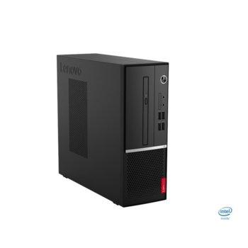 Настолен компютър Lenovo V530s SFF (11BM009EBL/3), четириядрен Coffee Lake Intel Core i3-9100 3.6/4.2 GHz, 8GB DDR4, 512GB SSD, 2x USB 3.1, клавиатура и мишка, Free DOS image