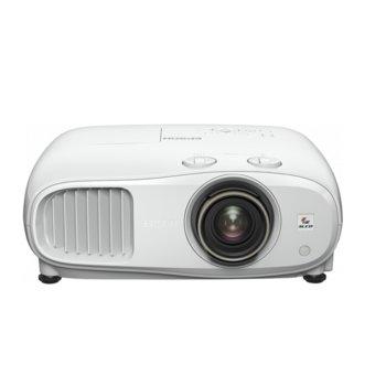 Проектор Epson EH-TW7100, 3LCD, 3840 x 2160 (4K/UHD), 100.000 : 1, 3000 lm, HDMI, USB, Audio in, Bluetooth image