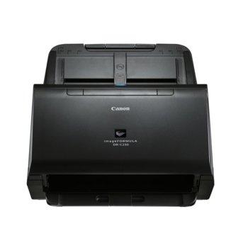 Скенер Canon C230, 600 x 600 dpi, A4, Duplex, ADF, USB, черен image