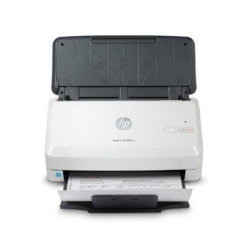 Скенер HP ScanJet Pro 3000 s4, 600 dpi, A4, двустранно сканиране, ADF, USB, бял image