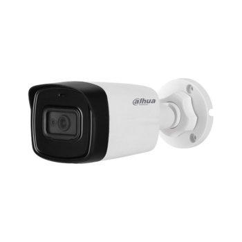 """HDCVI камера Dahua HAC-HFW1200TL-0360B-S4, насочена """"bullet"""" камера, 2 MPix (1080p(1920x1080@25FPS)), 3.6mm обектив, IR осветление (до 40m), външна, IP67 защита image"""