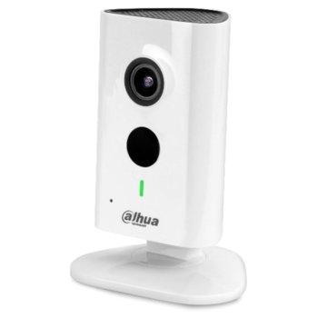 IP камера Dahua IPC-C15P, куполна, 3 Mpix(1280x960@25FPS), 2.3mm обектив, H.264/H.264B/H.264H.MJPEG, IR осветеност (до 10 метра), безжична Wi-Fi(IEEE802.11b/g/n), Built-in Mic & Speaker image