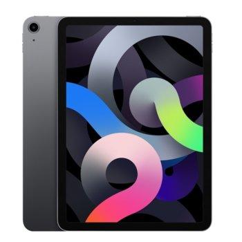 "Таблет Apple iPad Air 4 Wi-F (MYFM2HC/A)(сив), 10.9"" (27.69 cm) Retina дисплей, шестядрен A14 Bionic, 4GB RAM, 64GB Flash памет, 12.0 & 7.0 MPix камера, Ipad OS image"