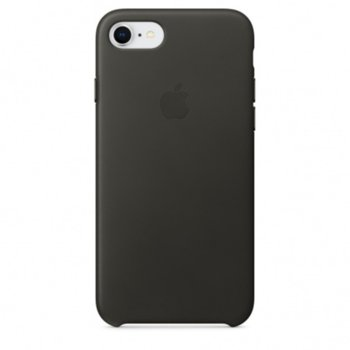Apple iPhone 8/7 Leather Case Charcoal Gray product