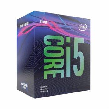 Процесор Intel Core i5-9400F шестядрен (2.9/4.10GHz, 9MB Cache, w/o GPU, LGA1151) BOX, с охлаждане image