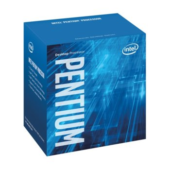 Процесор Intel Pentium G4400 дву-ядрен (3.3GHz, 3MB Cache, 350MHz-1GHz GPU, LGA1151) BOX, с охлаждане image
