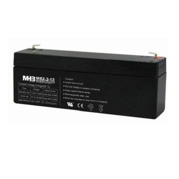 Акумулаторна батерия MS2.3-12, 12V, 2.3Ah, AGM image