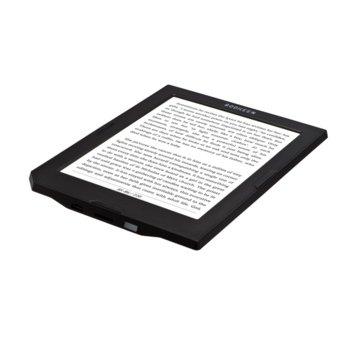 "Електронна книга Bookeen Cybook Muse FrontLight2, 6""(15.24 cm) E-Ink Carta мултитъч дисплей, Wi-Fi, Cortex A8 1GHz процесор, 512MB RAM, 4GB Flash памет, micro USB 2.0, microSD слот, черна image"