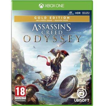 Игра за конзола Assassin's Creed Odyssey Gold Edition, за Xbox One image