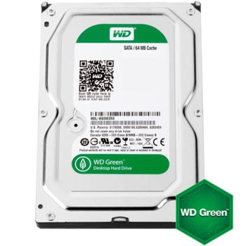 "4TB WD Green, SATAIII 3.5"", 7200rpm 64MB product"