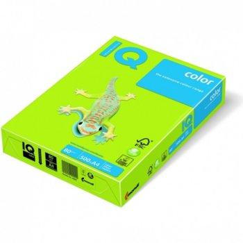 Картон Mondi LG46, Цветен, А4, 160g/m2, 250л., зелен image