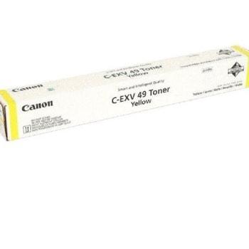 Тонер касета за Canon imageRUNNER ADVANCE C3330i/C3325i/C3320, Yellow, C-EXV49, Заб.: 19000 брой копия image