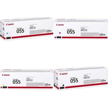 Тонер касета за Canon LBP66x series, MF74x series, Black, - CRG-055 BK - Canon - Заб.: 2100 k image