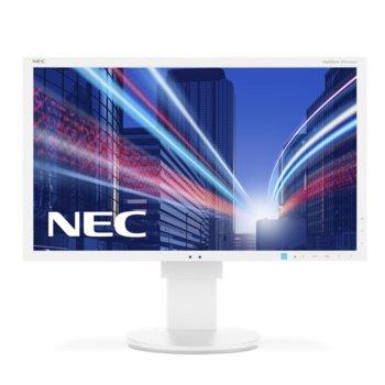 """Монитор NEC EA234WMi, 23"""" (58.42 cm) IPS панел, Full HD, 6 ms, 25,000:1, 250 cd/m2, HDMI, DisplayPort, DVI, VGA image"""