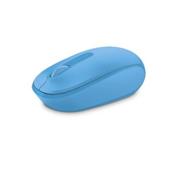 Мишка Microsoft Wireless Mobile Mouse 1850(U7Z-00057), безжична, USB, синя image