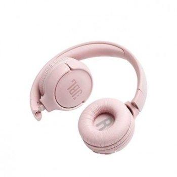 Слушалки JBL Tune 500, микрофон, розови image