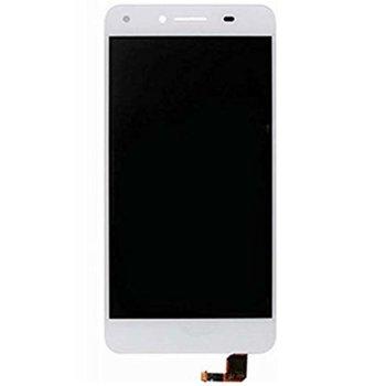 Дисплeй за Huawei Y5 ii / Y6 ii compact LCD с тъч, бял image