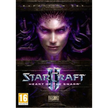 StarCraft II Heart of The Swarm, за PC product