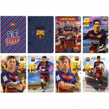 Тетрадка Barcelona, формат A4, офсетова хартия широки редове, 62 листа image