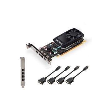 Видео карта Nvidia Quadro P620 V2 LowProfile DVI, 2GB, PNY NVIDIA Quadro P620 V2 LowProfile DVI, PCI-E 3.0, GDDR5, 128bit image
