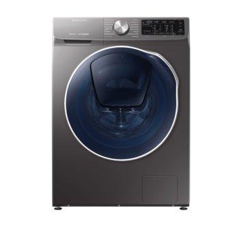 Пералня със сушилня Samsung WD90N64202X/LE, клас A, 9 кг. капацитет на пералня, 5 кг. капацитет на сушилня, 1400 оборота, свободностояща, 60cm. ширина, Add Wash врата за добавяне на пране, Wi-Fi, черна image