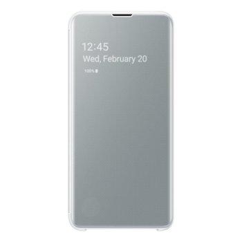 Калъф за Samsung Galaxy S10e G970, LED, EF-ZG970CWEGWW, бял image