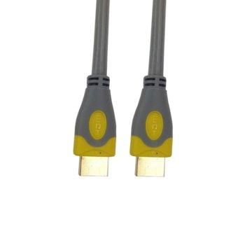 Кабел 0804110217, HDMI(м) към HDMI(м), 5m, сив image