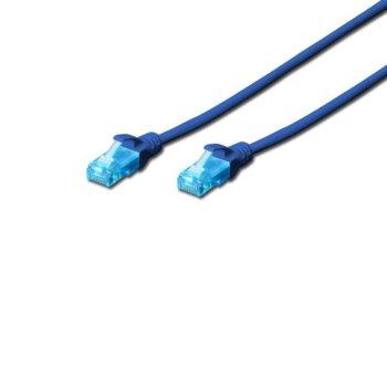 Пач кабел Cat.5e 10m UTP син product