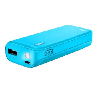 TRUST Primo Power Bank 4400 22057 Neon Blue product
