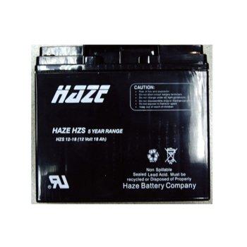 Акумулаторна батерия HAZE (HZS-12-18), 12V, 18Ah image