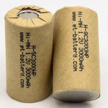Акумулаторна батерия Energy Technology H-SC3000HP, SC, 1.2V, 3000mAh, Ni-Mh, 1 брой image