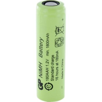 Акумулаторна батерия GP Batteries R6, AA, 180AAH-B, 1.2V, 1800mAh, NiMH, 1бр. image