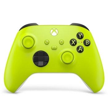 Геймпад Microsoft Xbox Series X Electric Volt, безжичен, за PC/Xbox Series X/S, Bluetooth, USB Type-C, жълт image