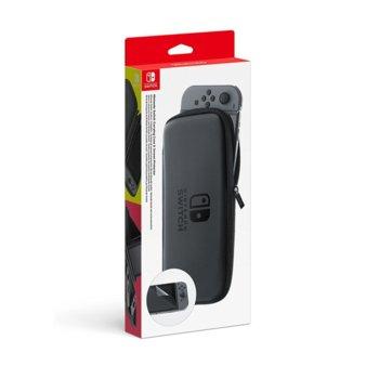 Чантичка и протектор за Nintendo Switch, сива image