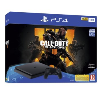 Sony PS 4 Slim 1TB + Call of Duty Black Ops 4 product