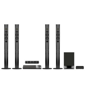 Soundbar система за домашно кино Sony BDV-N9200W, 5.1 канална, Bluetooth, HDMI, USB, 1200W, черна image