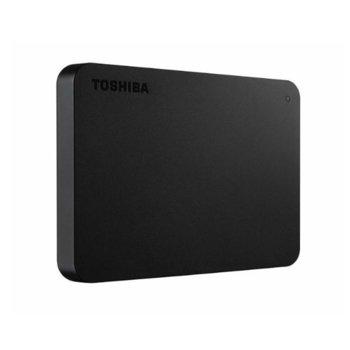 """Твърд диск 4TB Toshiba (HDTB440EK3CA), външен, 2.5"""" (6.35 cm), USB 3.0, черен image"""
