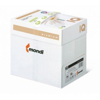 Хартия IQ Premium Triotec, A4, 80 g/m2, 500 листа, бяла image