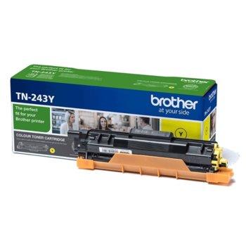 Тонер касета Brother TN-243Y, Yellow (жълт), до 1 000 страници, ISO/IEC 19798 image