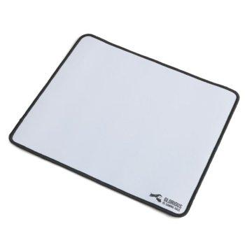 Подложка за мишка Glorious - Large, гейминг, бяла, 330 x 280 x 2mm image
