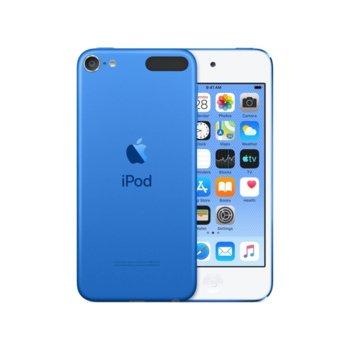 "MP4 плейър Apple iPod Touch (син), 4.0""(10.16 cm) сензорен IPS Retina дисплей, A10 Fusion чип, 32GB Flash памет, 8Mpix & Facetime HD 1.2Mpix camera, Wi-Fi, Bluetooth 4.1, iOS 12 image"