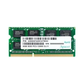 Памет 8GB DDR3 1600MHz, SODIMM, Apacer AS08GFA60CATBGC, 1,5V image