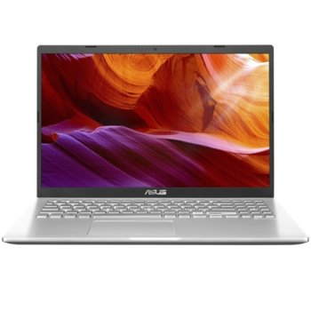 "Лаптоп Asus VivoBook M509DA-WB715 (90NB0P51-M15050)(сребрист), четириядрен Zen 2 AMD Ryzen 7 3700U 2.3/4.0GHz, 15.6"" (39.62 cm) Full HD Anti-Glare Display, (HDMI), 8GB DDR4, 512GB SSD, 1x USB 3.1 Type C, No OS image"