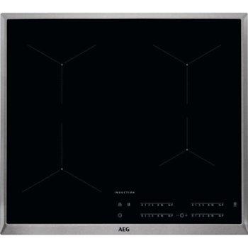 Вграден керамичен плот AEG IKB64431XB, 4 нагревателни зони, черен image