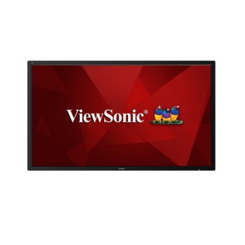 "All in One компютър ViewSonic CDE8600, четириядрен ARM Cortex A53 1.5 GHz, 86"" (218.44 cm) Ultra HD Display, 2GB DDR3, 16GB eMMC, USB image"