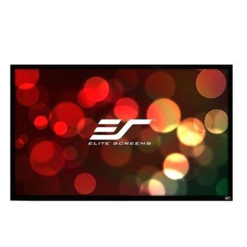 "Екран Elite Screens R84WH1, за стена, Black, 1862 x 1052 мм, 84"" (213.4 cm), 16:9 image"