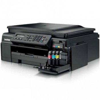 Мултифункционално мастиленоструйно устройство Brother MFC-J200, цветен принтер/скенер/копир/факс, 6000x1200 dpi, 11/6стр/мин, WiFi, USB, ADF, A4 image