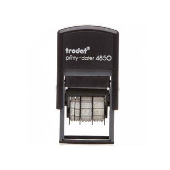 Датник Trodat 4850, правоъгълен, височина на шрифта 3.8 mm image